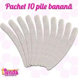 SET 10 PILE BANANĂ ZEBRĂ 100/180