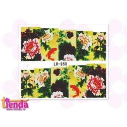 Tatuaj flori LR950