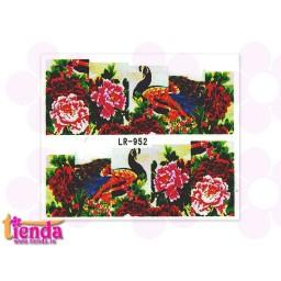 Tatuaj flori LR952