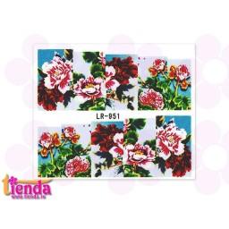 Tatuaj flori LR951