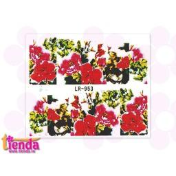 Tatuaj flori LR953