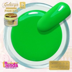 Gel UV Color Pigmento GK705 Neon Club Green 5ml