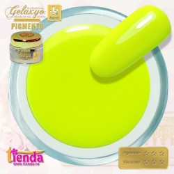 Gel UV Color Pigmento GK706 Neon Club Yellow 5ml