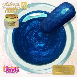 Gel UV Color Pigmento GK714 Persian Blue 5ml