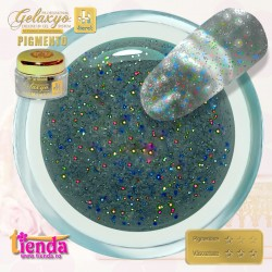 Gel UV Color Pigmento GK717 Diva Shine 5ml