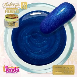 Gel UV Color Pigmento GK718 Blue Sapphire 5ml
