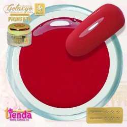 Gel UV Color Pigmento GK751 Scarlet Red