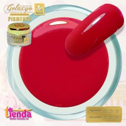 Gel UV Color Pigmento GK752 Cherry Red
