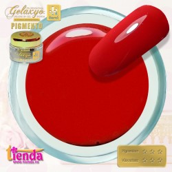 Gel UV Color Pigmento GK753 Ruby Red