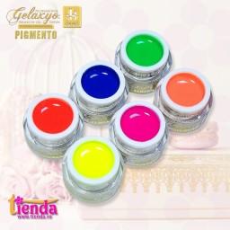 Pachet  6 Geluri Color Pigmento Neon