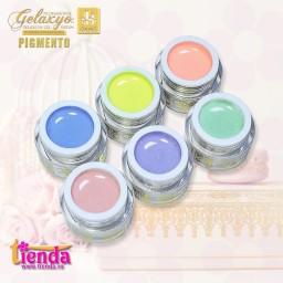 Pachet  6 Geluri Color Pigmento Pastel