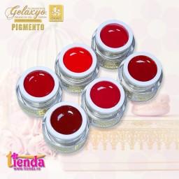 Pachet  6 Geluri Color Pigmento Red