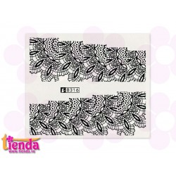 Tatuaj abstract B316