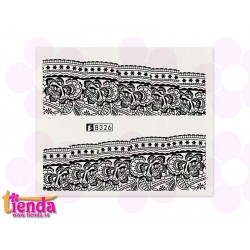 Tatuaj abstract B326