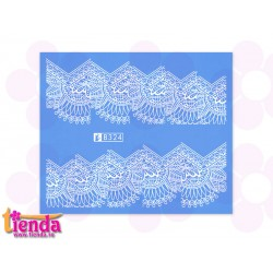 Tatuaj abstract B324W