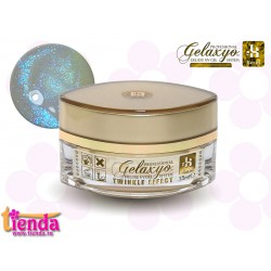 Gel UV Finish Gelaxyo :Karat TWINKLE EFFECT 2 - Albastru Briliant 15ml