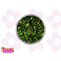 Pigment fulgi 006 Green-Gold