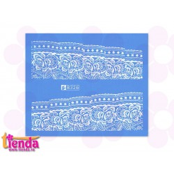 Tatuaj abstract B326W
