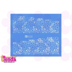Tatuaj abstract B336W