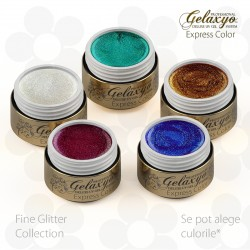 Pachet Fine Glitter Collection 5 Geluri