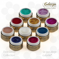 Pachet Fine Glitter Collection 10 Geluri