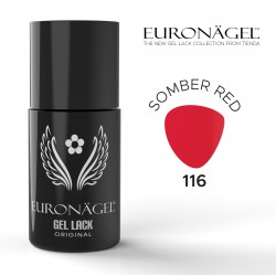 Euronägel  GL116 - Somber Red