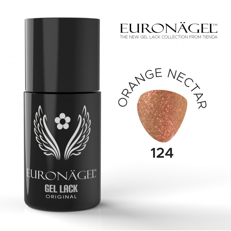 Euronägel  GL124  - Orange Nectar