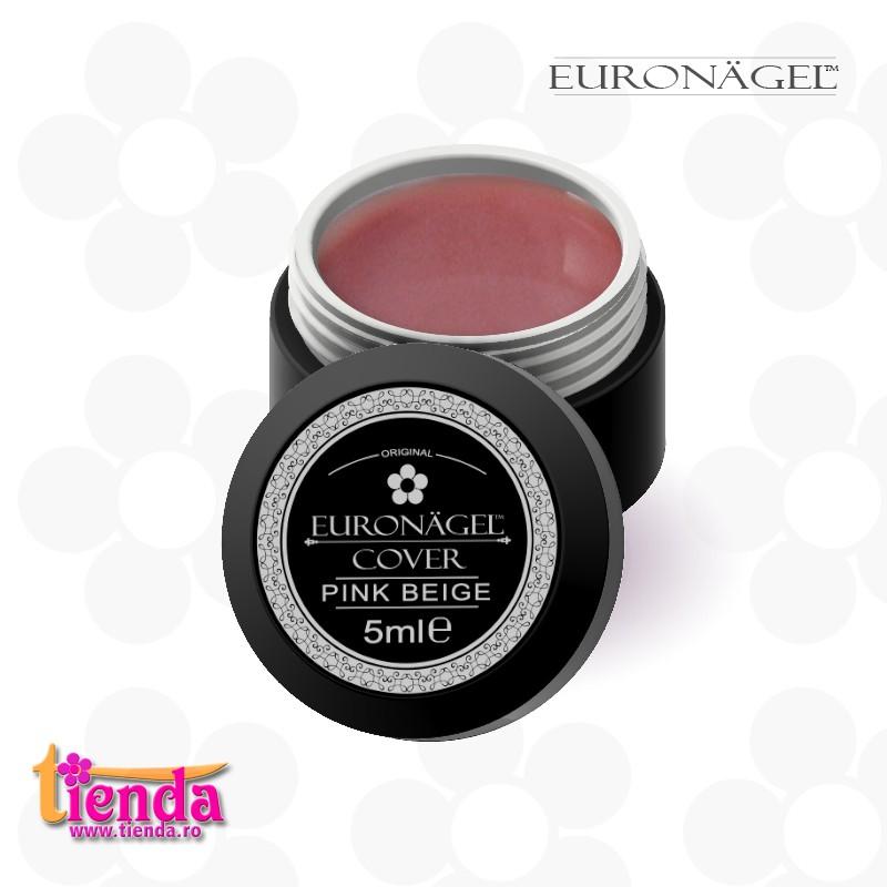 Gel Uv Cover Tienda Euronägel Pink Beige 5ml Tiendaro Nails