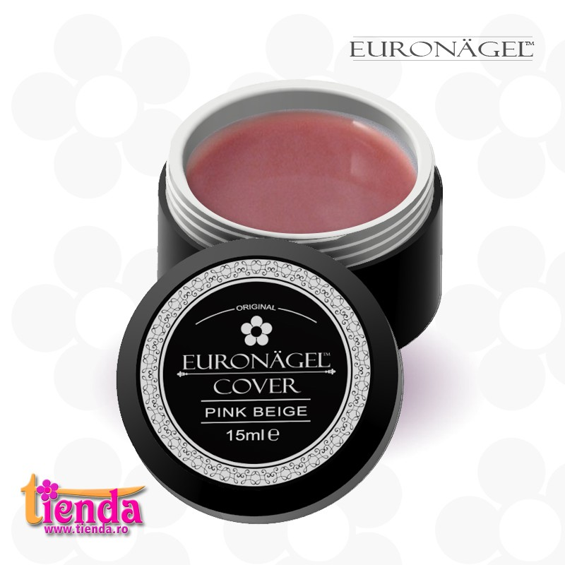 Gel UV Cover Tienda Euronägel PINK-BEIGE 15ml