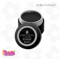 Gel UV Color Tienda Euronägel Wet Look Black 5ml