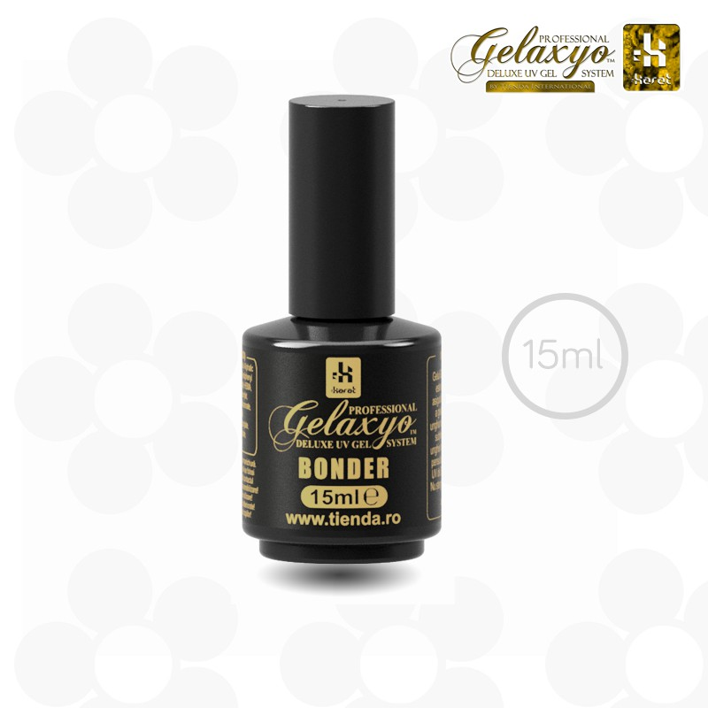 GEL UV BAZĂ GELAXYO :KARAT BONDER - STICLUȚA 15ML