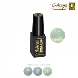 Gel UV Finish Gelaxyo :Karat TWINKLE EFFECT 3 - Smarald scânteietor  5ml