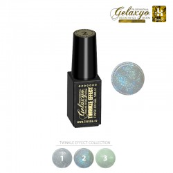 Gel UV Finish Gelaxyo :Karat TWINKLE EFFECT 2 - Albastru Briliant  5ml