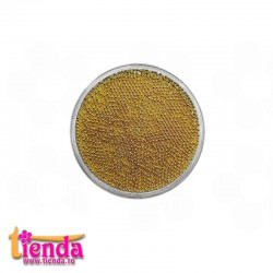 CAVIAR MICRO METALIC 0,5mm Gold 2gr METALIC