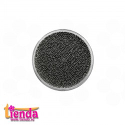 CAVIAR MICRO METALIC 0,5mm BLACK 2 gr