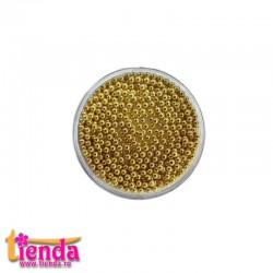 CAVIAR METALIC 1,2mm GOLD 2gr.