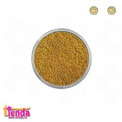 CAVIAR METALIC 1,0mm GOLD 2gr.