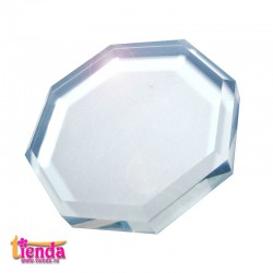 PLACĂ STICLĂ HEXAGON 5,5cm