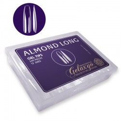 "GEL TIPS ""ALMOND LONG"" SET 240 BUC 12 MĂRIMI"