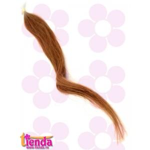 Extensii de păr natural cu cheratină blond închis