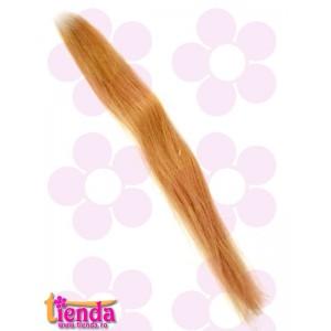Extensii de păr cu cheratină blond deschis
