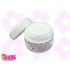Gel UV French Tienda Euronägel WHITE 5ml