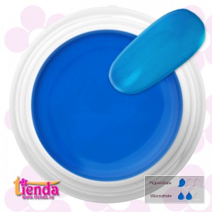 GEL UV COLOR Tienda-Euronägel NEON BLUE 5ml