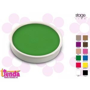 Godet aqua make-up Verde