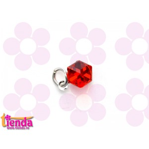 PIERCING UNGHII CRISTAL RED
