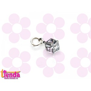 PIERCING UNGHII CRISTAL SILVER