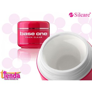 GEL UV 3 în1  THICK CLEAR 50gr Silcare-Base One