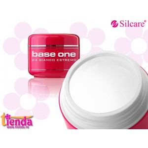 Gel UV FRENCH Bianco Estremo 15gr Silcare-Base One