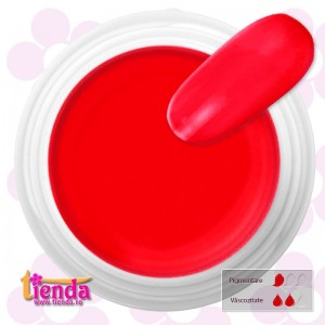 GEL UV COLOR Tienda-Euronägel NEON RED 5ml