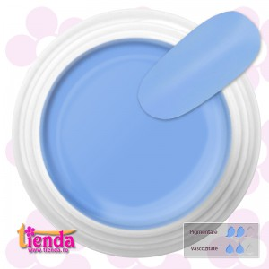 Gel UV Color Tienda Euronägel Pastel Blue 5ml
